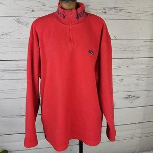 Vintage 90's Tommy Jeans Fleece Spell Out XL